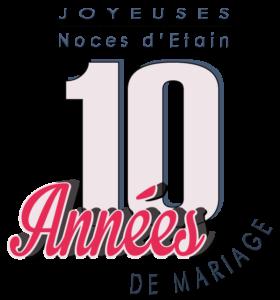 10 Ans De Mariage Noces Détain Symbole Idées Cadeaux
