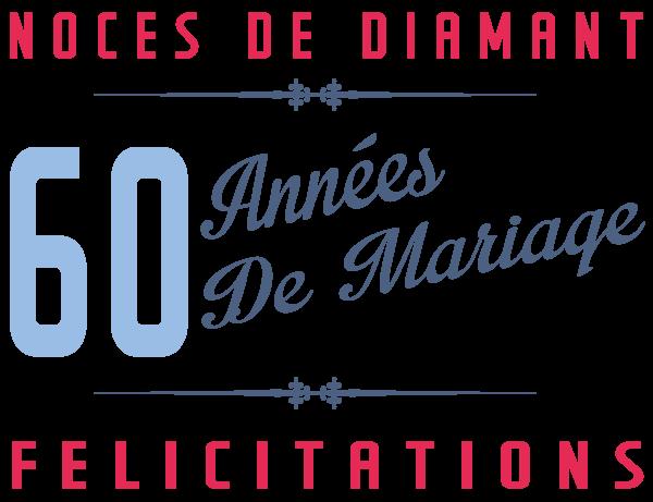 60 ans de mariage noces de diamant symbole id es cadeaux - Cadeau pour 60 ans de mariage ...