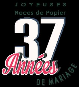 37 Ans De Mariage Noces De Papier Symbole Idées
