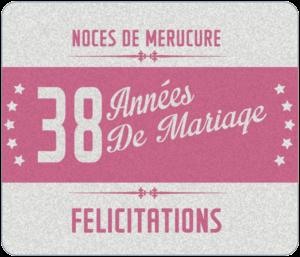 38 Ans De Mariage Noces De Mercure Symbole Idees