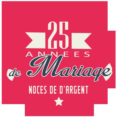 25 ans de mariage noces d 39 argent symbole id es for Idees cadeaux 25 ans