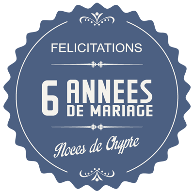 6 ans de mariage 39 noces de chypre 39 symbole id es cadeaux. Black Bedroom Furniture Sets. Home Design Ideas